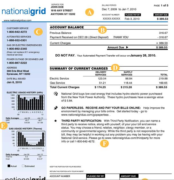 Understand your Niagara Mohawk Bill | Power2Switch